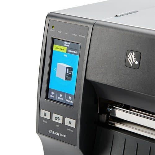 Zebra ZT411 RFID Printer LCD Screen